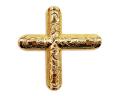 小宮丸鉾金具 銅地特上本金鍍金 十文字2分×1寸2分