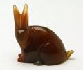 甲府彫刻 ウサギ (カーネリアン) No.12