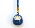 福音鈴 だるま (瑠璃色)