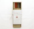 イセミタテ お箸飾り 透かし金彩 5個セット 祝い箸付き 木箱入