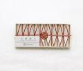 お箸飾り 鉱石 紅白 9個セット