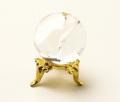 丸玉 天然水晶 (レインボー入り) φ26 No.45