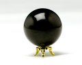 丸玉 モリオン(黒水晶) φ46 No.5