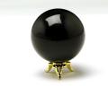 丸玉 モリオン(黒水晶) φ46 No.6