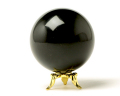 丸玉 モリオン(黒水晶) φ49 No.7