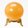 丸玉 オレンジカルサイト φ37 No.24