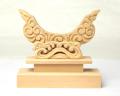 【アウトレット】特上彫り雲形台 3寸5分