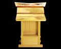 【アウトレット】 外祭用神棚 銅板葺折れ屋根宮(板宮)〈G-306 36号〉 No.1