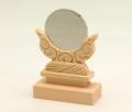 神鏡 鏡+木曽桧製雲形台 1.5寸