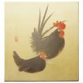 和風飾り絵 干支色紙 酉 No.2