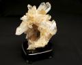 水晶クラスター アーカンソー産 (木製台付き) No.11