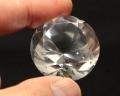 本水晶 ダイヤモンド カット No.4