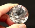 本水晶 ダイヤモンド カット No.6