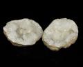 水晶 ジオード(晶洞) 2個セット No.17