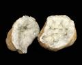 水晶 ジオード(晶洞) 2個セット No.4