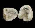 水晶 ジオード(晶洞) 2個セット No.8