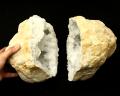 水晶 ジオード(晶洞) 2個セット No.28