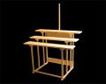 祭壇 折畳式 三段式
