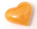 タンブル ハート型 オレンジカルサイト No.3