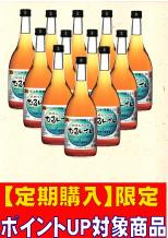 【定期購入】琉球もろみ酢「むるん酸ドライ」12本セット