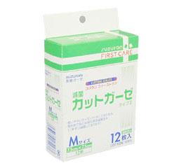 滅菌Sガーゼ カットガーゼ M 12枚ファーストケア
