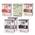 ヘナ+木藍 黒茶系 100g、400g(100g×4) ナイアード