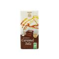 ゲパ オーガニック 塩キャラメルミルクチョコレート 40g