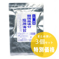 【3個まとめ買い】韓国風味付塩焼海苔 4切20枚入×3個 成清海苔店