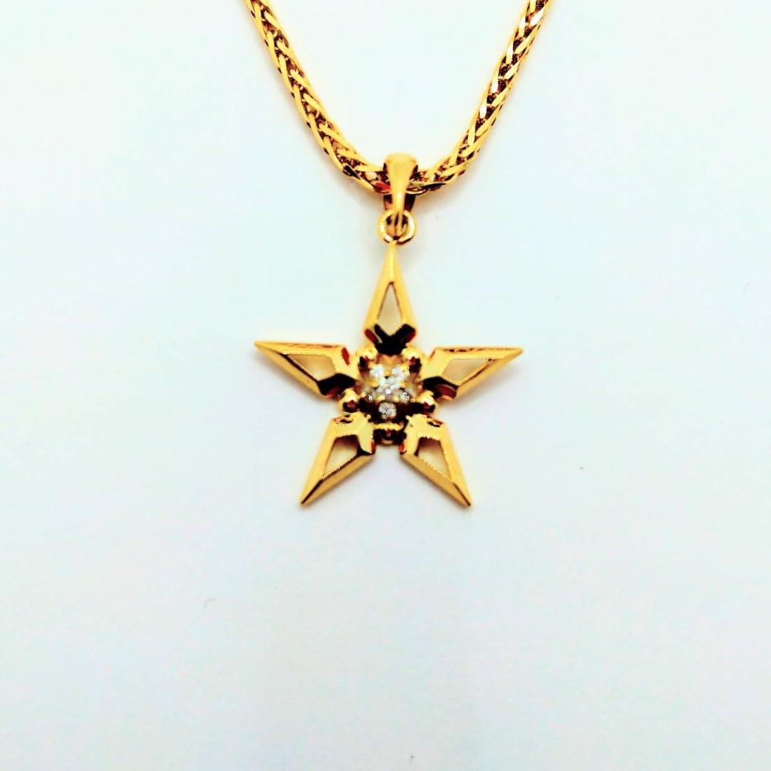 星 K18 ダイヤ