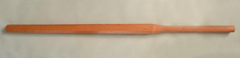 木刀 赤樫 八角3.8尺素振り 先細 (日本製)