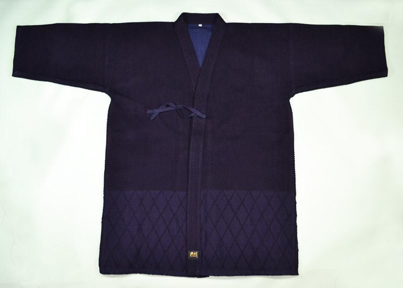 剣道衣 武州一 正藍染・二重最上「勝気」#220 4、5〜5号 【野川染織工業製】