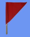 審判用品,監督旗,赤旗