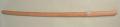 木刀 白樫 中刀 (日本製)