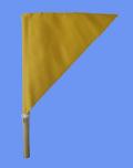 審判用品,タイマー旗,黄旗