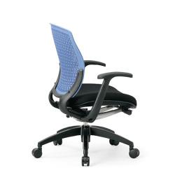 メッシュチェアがこの価格!荷重に合わせて変形する樹脂メッシュの背もたれで快適なオフィスチェア。AICO【MA-1515BK-X】
