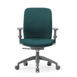 指や衣服をはさみにくい安全設計。11種から選べる張地でどんなオフィスにもマッチする定番オフィスチェア。AICO【OA-2135AJ】