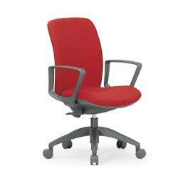 指や衣服をはさみにくい安全設計。11種から選べる張地でどんなオフィスにもマッチする定番オフィスチェア。AICO【OA-2135BJ】