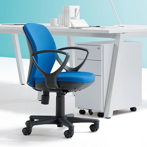 包まれるような座り心地。11種から選べる張地でどんなオフィスにもマッチする定番オフィスチェア。AICO【OA-1055EJ】