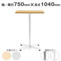 ラウンジテーブル 幅750×奥行750×高さ1040 AICO(アイコ) 【法人専用】 BTH-750K