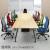 オフィスチェア MS-1455の使用イメージ。※テーブルは別売りです。
