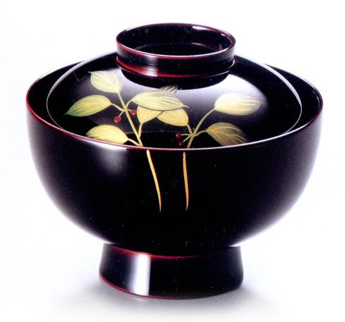 雑煮椀 やぶこうじ 漆塗り (製造中止)