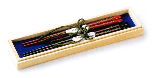 夫婦箸 アラモード  木製 漆塗り(製造中止)