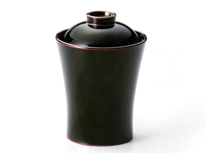 小吸物椀 鼓 溜 5客セット(製造中止) 【送料無料】 漆塗り