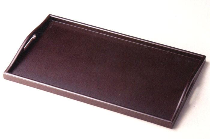 18.0 脇取盆 乾漆 うるみ 【送料無料】 木製 トレー 10-10401