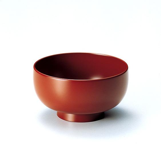 お好み椀 古代朱  5客セット【送料無料】 漆塗り