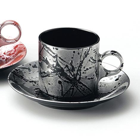 コーヒーカップ&ソーサー フロー
