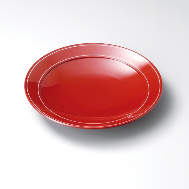 パスタ皿 赤