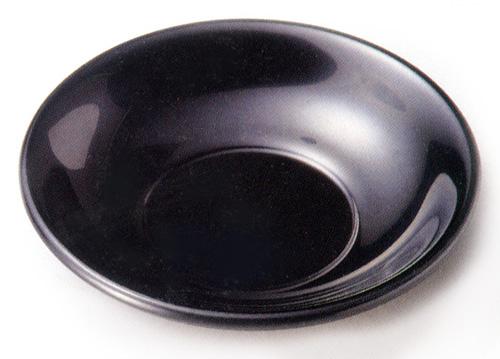 茶托 黒 3寸 5枚セット 【送料無料】 木製 漆塗り