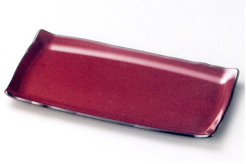 吉野長角皿 古代朱(製造中止) 漆塗り 中皿