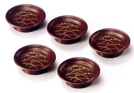 箸置き豆皿 つゆ草 (製造中止)